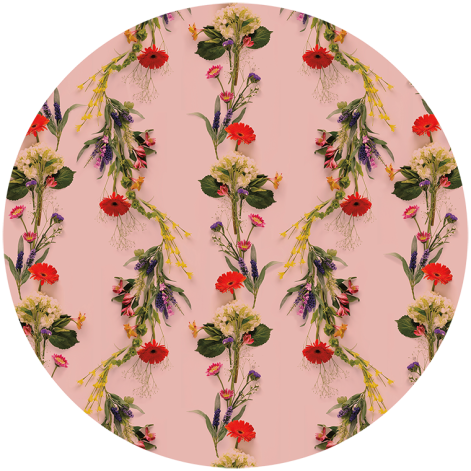 Flower Wallpaper Pink